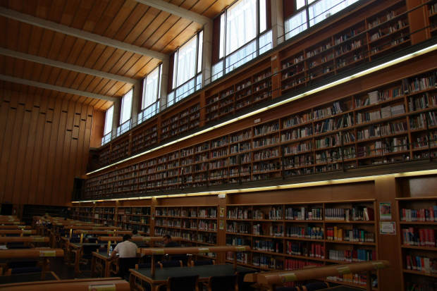 Unibibliothek arbeiten