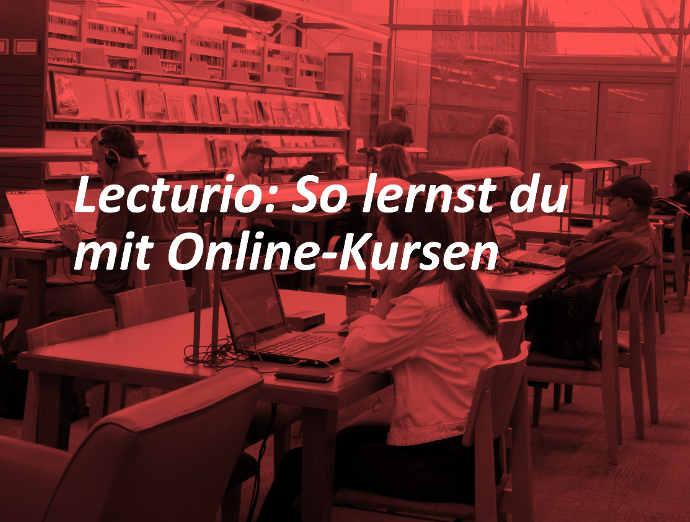 Lecturio: Online Kurse für dein Studium