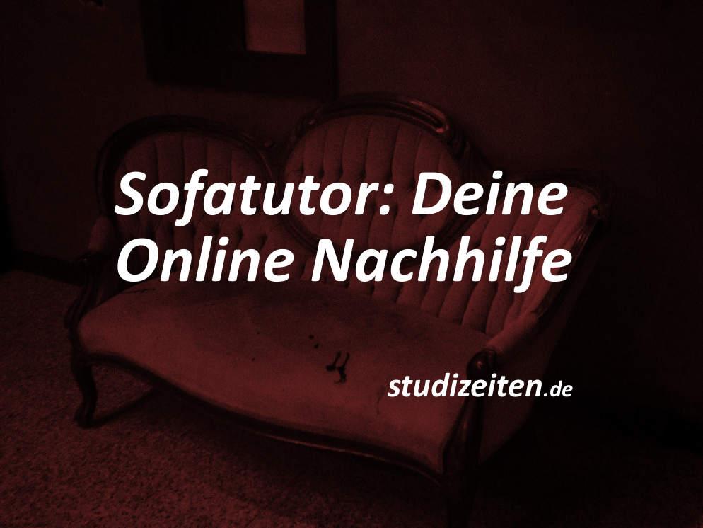 Sofatutor Online Nachhilfe