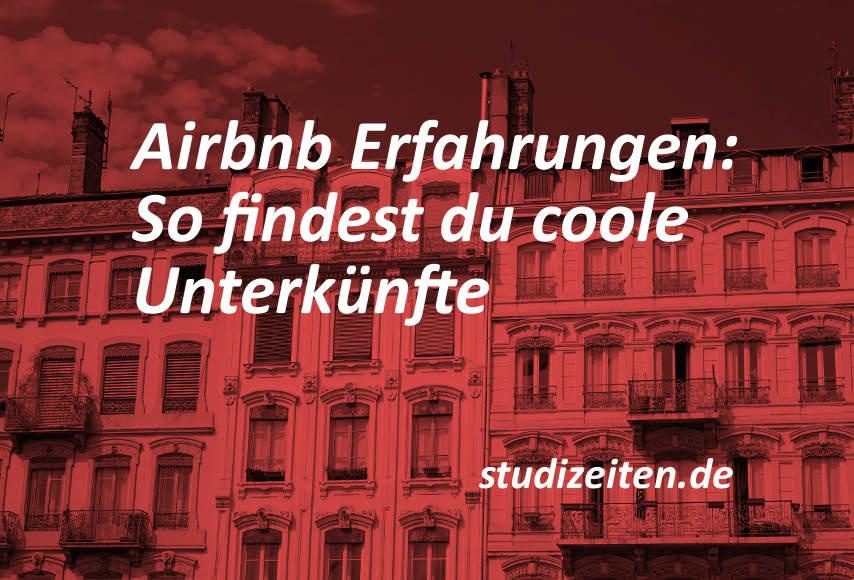 Airbnb Erfahrungen