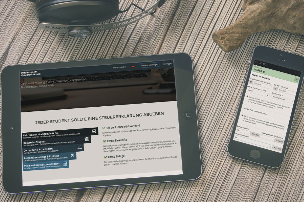 Steuererklärung als Student online erledigen