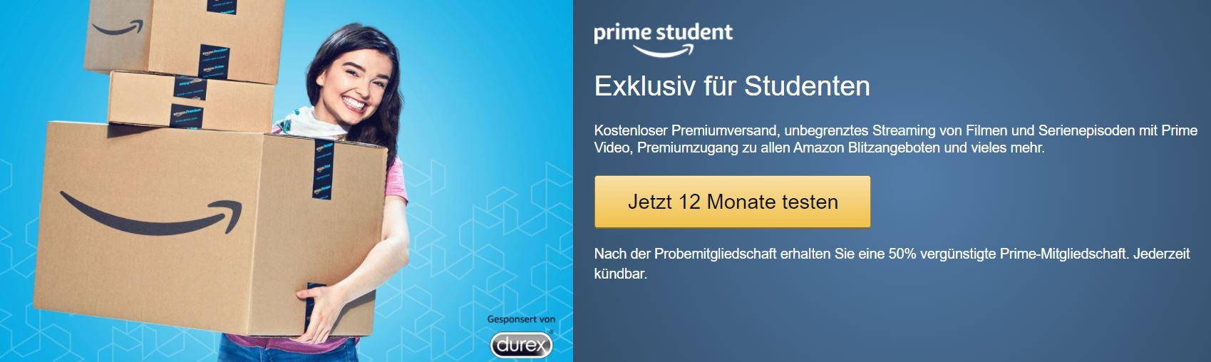 Amazon Prime Für Studenten Umsonst